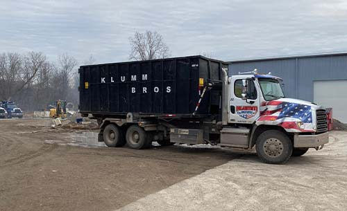 Roll-Off Dumpster Services